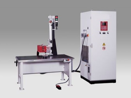 Induction Single Station Brazing Machine - The Induction Single Station Brazing Machine can be used for smaller and medium serial production.
