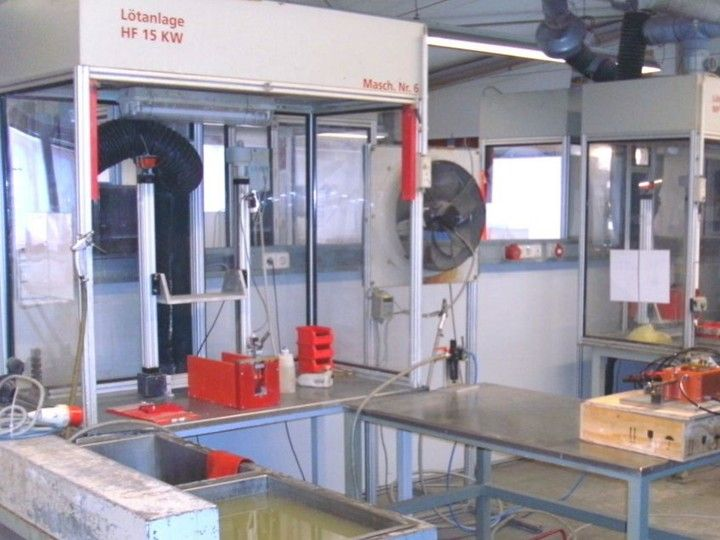 Commercial brazing, brazing of prototypes and series - Experience in the field of inductive brazing for years.