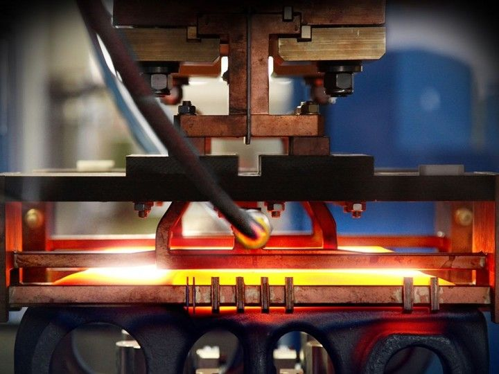 Induction heating equipment - Induction heating is more efficient and economical than conventional heating systems.