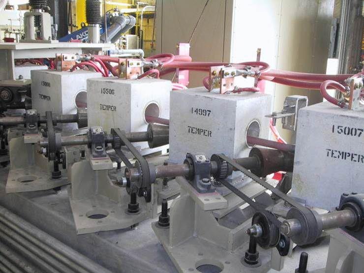 Rohrerwärmung - Energieeffiziente induktive Erwärmung und Schweißtechnik für die Rohrherstellung.