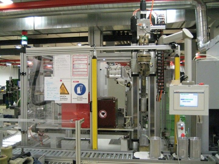 Inductive Heating and Shrink Fitting Machine - Perfect for the inductive heating of the electrical motor housing, followed by auto-joining of the stator package into the electric motor housing<span></span>