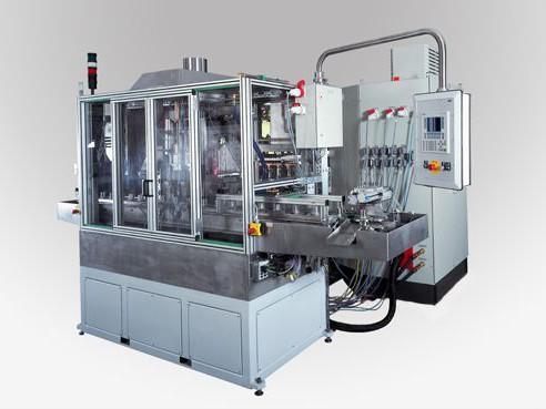 Induktionsanlage zum Härten / Anlassen - Ideal für das induktive Erwärmen, Löten und Fügen für den Elektromotorbau. Die Gehäuse können aus Aluminum oder Guss sein.